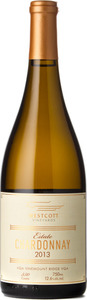Westcott Vineyards Estate Chardonnay 2013, VQA Vinemount Ridge Bottle