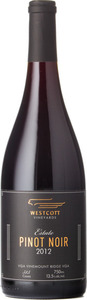 Westcott Estate Pinot Noir 2012, VQA Vinemount Ridge Bottle