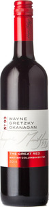Wayne Gretzky Okanagan No.99 The Great Red 2014, British Columbia Bottle