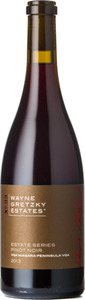 Wayne Gretzky No. 99 Estate Series Pinot Noir 2013, VQA Niagara Peninsula Bottle