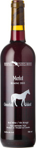 Waupoos Estates Merlot Reserve 2013, Prince Edward County Bottle
