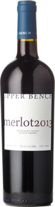 Upper Bench Estate Merlot 2013, BC VQA Okanagan Valley Bottle