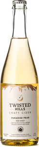 Twisted Hills Paradise Pear Organic Cider 2015, Similkameen Valley Bottle