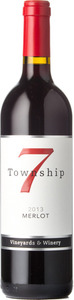 Township 7 Merlot 2013, BC VQA Fraser Valley Bottle