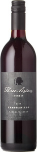 Three Sisters Tempranillo 2014, Okanagan Valley Bottle