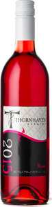 Thornhaven Rosé 2015, Okanagan Valley Bottle