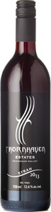 Thornhaven Syrah 2013, BC VQA Okanagan Valley Bottle