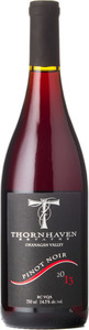 Thornhaven Pinot Noir 2013, BC VQA Okanagan Valley Bottle