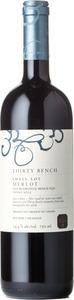 Thirty Bench Small Lot Merlot 2012, VQA Beamsville Bench Bottle