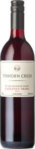 Tinhorn Creek Cabernet Franc 2013, BC VQA Okanagan Valley Bottle