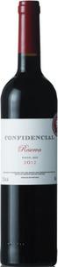 Confidencial Reserva 2012, Vinho Regional Lisboa Bottle
