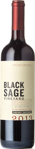 Black Sage Cabernet Sauvignon 2013, BC VQA Okanagan Valley Bottle