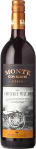 Monte Creek Ranch Cabernet Merlot 2014, BC VQA Okanagan Valley Bottle