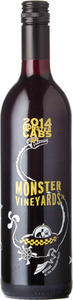 Monster Vineyards Cabs Meritage 2014, Okanagan Valley Bottle