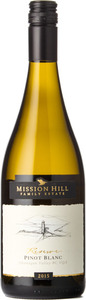 Mission Hill Pinot Blanc Reserve 2015, BC VQA Okanagan Valley Bottle