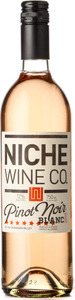Niche Wine Company Pinot Noir Blanc 2015, Okanagan Valley Bottle