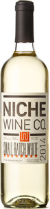 Niche Small Batch White 2014, Okanagan Valley Bottle