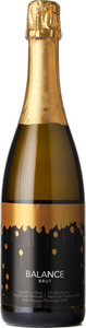 Niagara College Teaching Winery Balance Brut 2012, Niagara Peninsula Bottle