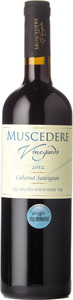 Muscedere Vineyards Cabernet Sauvignon 2012, Lake Erie North Shore Bottle