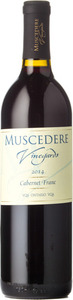 Muscedere Vineyards Cabernet Franc 2014, VQA Lake Erie North Shore Bottle