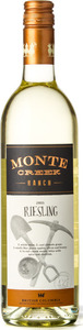 Monte Creek Ranch Riesling 2015, BC VQA Okanagan Valley Bottle