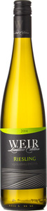 Mike Weir Limited Edition Riesling 2014, VQA Beamsville Bench, Niagara Peninsula Bottle