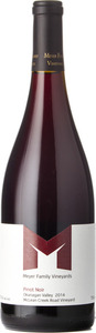 Meyer Pinot Noir Mclean Creek Road Vineyard 2014, BC VQA Okanagan Valley Bottle
