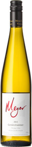 Meyer Gewurztraminer Mclean Creek Road Vineyard 2014, Okanagan Valley Bottle