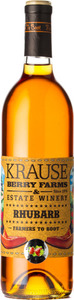 Krause Berry Farms And Estate Winery Rhubarb, VQA Fraser Valley Bottle