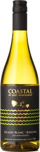 Jost Coastal L'acadie Blanc Riesling 2015 Bottle