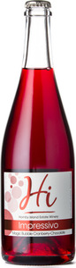 Hornby Island Impressivo Magic Bubble Cranberry Chocolate 2015, Gulf Islands Bottle