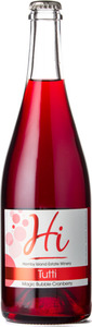 Hornby Island Tutti Magic Bubble Cranberry, Gulf Islands Bottle