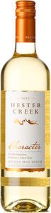 Hester Creek Character White 2015, BC VQA Okanagan Valley Bottle