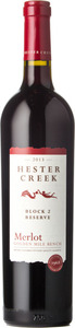 Hester Creek Block 2 Reserve Merlot 2013, BC VQA Okanagan Valley Bottle