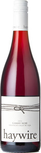 Haywire Gamay Noir 2014, BC VQA Summerland Bottle