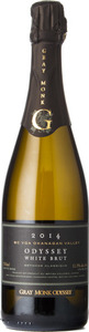 Gray Monk Odyssey White Brut 2014, BC VQA Okanagan Valley Bottle