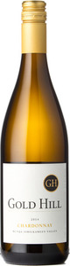 Gold Hill Chardonnay 2014, BC VQA Okanagan Valley Bottle