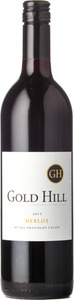Gold Hill Merlot 2013, BC VQA Okanagan Valley Bottle