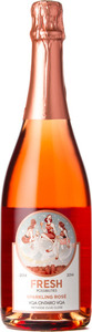 Fresh Possibilites Sparkling Rosé 2014 Bottle
