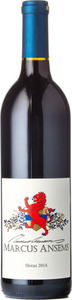 Daydreamer Marcus Ansems Shiraz 2014, BC VQA Okanagan Valley Bottle
