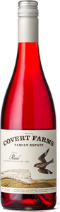 Covert Farms Rosé 2015, BC VQA Okanagan Valley Bottle