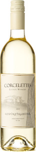 Corcelettes Gewurztraminer Rocky Ridge Vineyard 2015, Similkameen Valley Bottle
