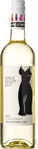 Colio Girls' Night Out Chardonnay 2014, Ontario VQA Bottle