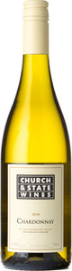 Church & State Chardonnay Gravelbourg Vineyard 2014, Okanagan Valley Bottle