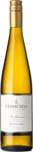 CedarCreek Platinum Riesling Block 3 2015, Okanagan Valley Bottle