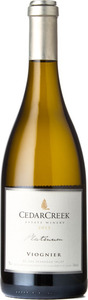 CedarCreek Platinum Viognier 2015, BC VQA Okanagan Valley Bottle