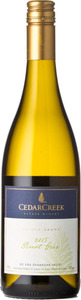 CedarCreek Pinot Gris 2015, BC VQA Okanagan Valley Bottle