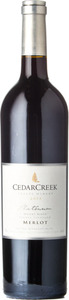CedarCreek Platinum Merlot Desert Ridge 2013, Okanagan Valley Bottle