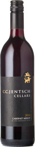 C.C. Jentsch Cabernet Merlot 2014, BC VQA Okanagan Valley Bottle
