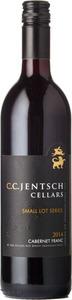 C.C. Jentsch Small Lot Series Cabernet Franc 2014, Okanagan Valley Bottle